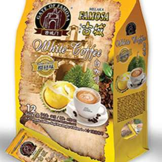 DURIAN WHITE COFFEE 40g x 12's EXP 2020