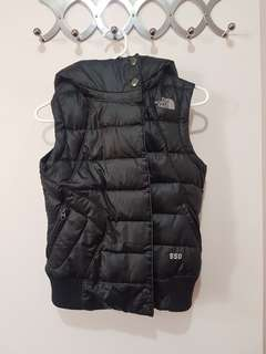 North Face 550 Puffer Vest