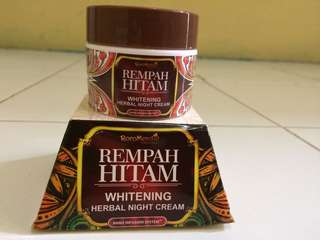 Roro mendut whitening herbal night cream