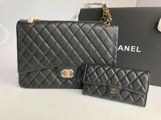 CHANEL BAG & WALLET