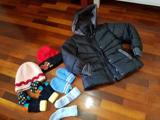 Boy winter set