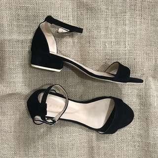 """1"""" Block Heels Sandals"""