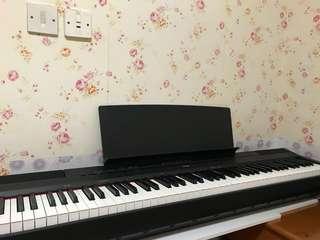 YAMAHA 電子鋼琴 DIGITAL PIANO P-115 黑色