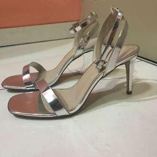Asos silves heels