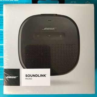 BOSE Soundlink Micro Black (BNIB)