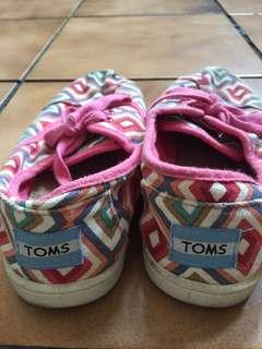 Toms Pink Sneakers