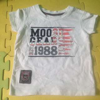 Moose gear top for baby