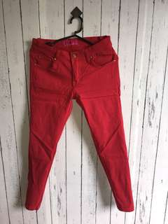 Red Soft Jeans