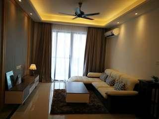 R & F Princess Cove Condo 3Rooms 2 Baths For Rent (Johor)