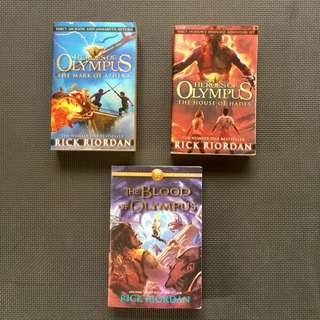 Percy Jackson Heroes Of Olympus Books