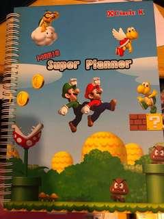 Circle K Mario Super Planner連萬字夾