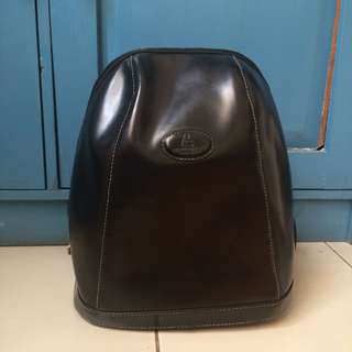Ransel / backpack hitam sophie martin