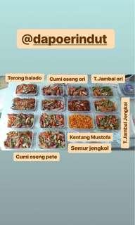 Jual masakan rumah