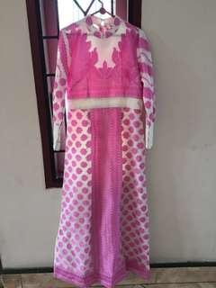 Gamis pink