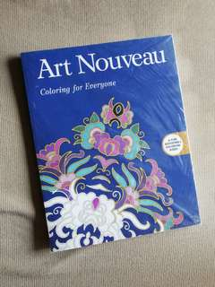 Art Nouveau Coloring Book