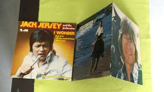 JOHN DENVER ● JACK JERSEY AND THE JORDANAIRES . windsong / i wonder ( buy 1 get 1 free )   vinyl record