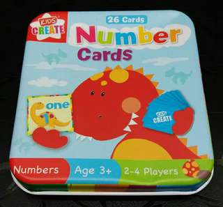 BrandNew Numbers Educational Cards Game