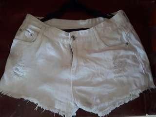 Sexy Short White