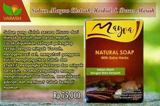 Sabun mayva ekstrak herbal