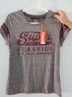 Authentic Superdry T-shirt Brand New W Tag