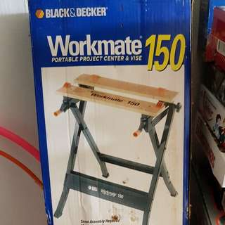 Rarely used Black & Decker Workmate 150 work bench