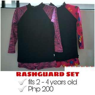 Rashguard SET of 2