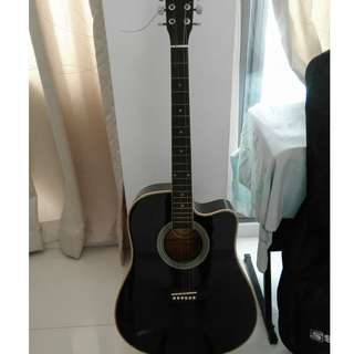Acoustic guitar for sale $50