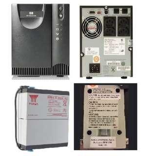 HP 750VA UPS T750 G2 Uninterruptible Power Supply Backup Battery