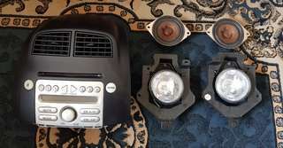 Myvi Headunit Speaker Foglamp