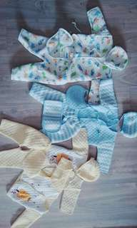 Baby winter thermal clothes