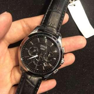 100%real n new鐵達時機械錶