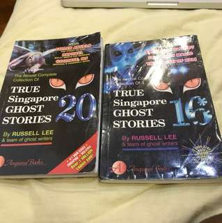 True Singapore Ghost Stories- books 20 and 16
