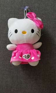 Hello Kitty Soft Toy with suction