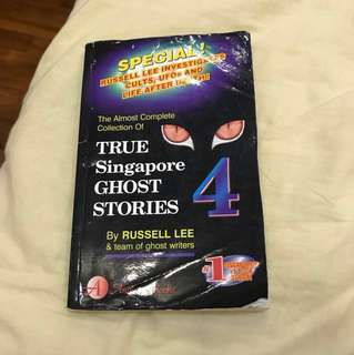 True Singapore Ghost Stories- book 4