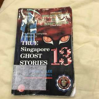 TRUE SINGAPORE GHOST STORIES- book 13
