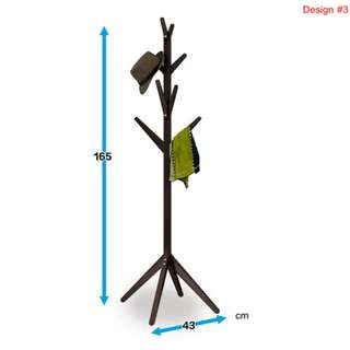 Wooden Coat Rack / Hatstand