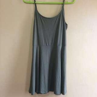 Olive/ Navy Green Dress