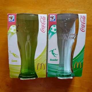 麥當勞 可口可樂 玻璃杯 全套