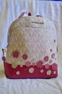 MIchael Kors MK Emmy Floral Vanilla Pink Small