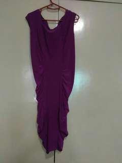 (Repriced) Karimadon Purple Dress