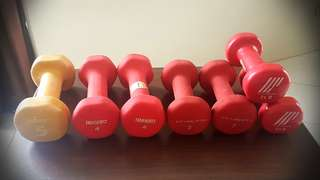 Dumbells (100 per pc, discount if whole lot)