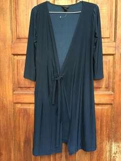 Dark blue-green dress