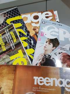 kpop posters & magazines