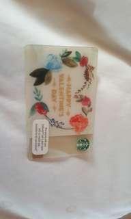 BN Malaysia Valentine's Day Starbucks Card
