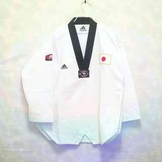 三件7折🎊 Adidas 跆拳道衣 和服 白 電繡logo 韓國製 日本隊 極稀有 老品 復古 古著 vintage