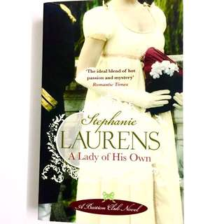 A Lady Of His Own by Stephanie Laurens (historical romance book)