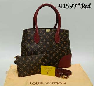 Louis Vuitton Monogram Flandrin Red
