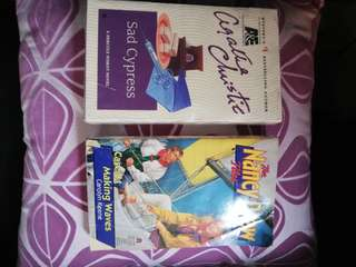 NANCY DREW and AGATHA CHRISTIE mystery titles