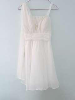 🚚 White Prom Dress