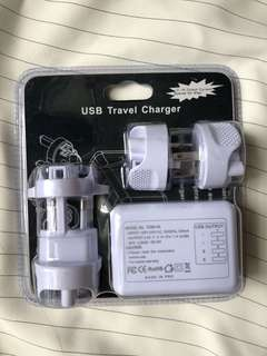 USB x 4Travel Charger 旅行插頭